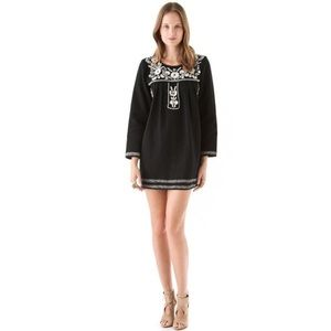 Mes Demoiselles Stacy Embroidered Mini Dress 42 10
